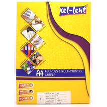 Xel-lent Address & Multi-purpose Labels 4 labels
