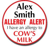 Allergy Label ST AL G 015
