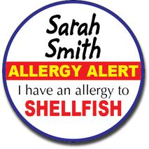 Allergy Label ST AL G 016