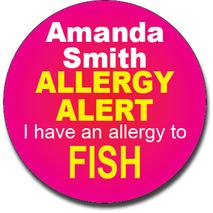 Allergy Label ST AL G 019
