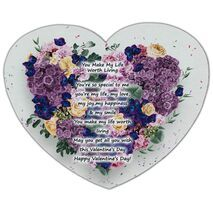 Valentine's Day Heart shape Mouse Pad HS MP 0001