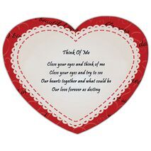 Valentine's Day Heart shape Mouse Pad HS MP 0003