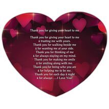 Valentine's Day Heart shape Mouse Pad HS MP 0006