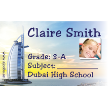 40 Personalised School Label 0325