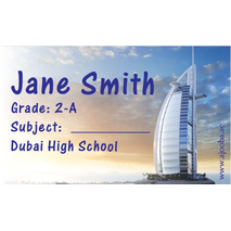 40 Personalised School Label 0339