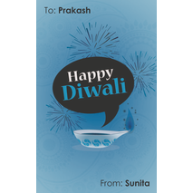 Diwali Design Gift Tag 078