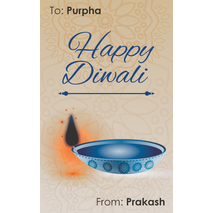 Diwali Design Gift Tag 083