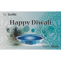 Diwali Design Gift Tag 084