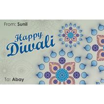 Diwali Design Gift Tag 087