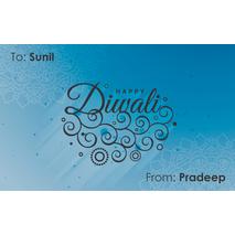 Diwali Design Gift Tag 091