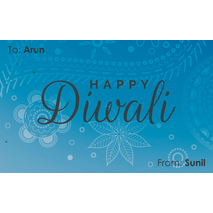 Diwali Design Gift Tag 095
