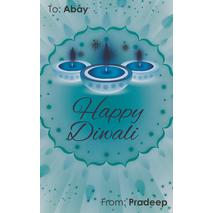 Diwali Design Gift Tag 096