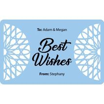 Laser Engraved Gift Tags D  10