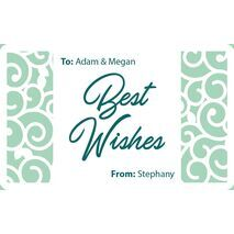 Laser Engraved Gift Tags D  17