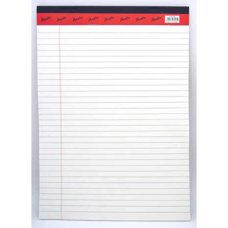 Legal pad A4 White Paper
