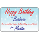 Personalised Gift Labels ST PGL 0007