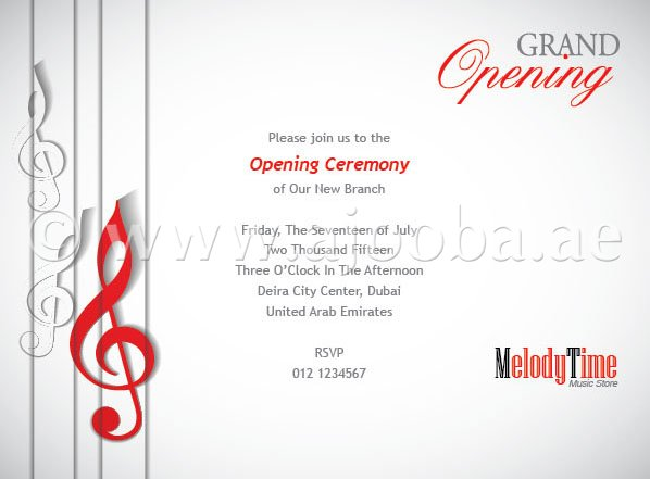 New Office Opening Invitation Card Siteinvitation Org