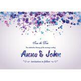 Wedding Invitation Card WIC 7806