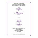 Wedding Invitation Card WIC 7821