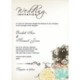 Wedding Invitation Card WIC 7803