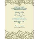 Wedding Invitation Card WIC 7809