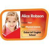 Personalised School Label 039