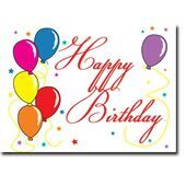 Happy Birthday Corporate Card HBCC 1101