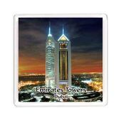 Ajooba Dubai Souvenir Magnet Emirates Towers MG 006