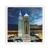 Ajooba Dubai Souvenir Magnet Emirates Towers MG 008