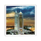 Ajooba Dubai Souvenir Magnet Emirates Towers MG 009