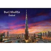 Ajooba Dubai Souvenir Puzzle Burj Khalifa 0058