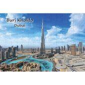 Ajooba Dubai Souvenir Puzzle Burj Khalifa 0063