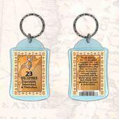 Birthday Gift Keyrings Zodiac Star Sign Keyrings 23 Dec Capricorn