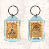 Birthday Gift Keyrings Zodiac Star Sign Keyrings 25 Dec Capricorn