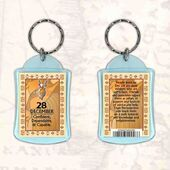 Birthday Gift Keyrings Zodiac Star Sign Keyrings 28 Dec Capricorn