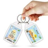 KPK 140 ISAAC Personalised Name Souvenir Keyring With Qualities