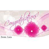 Congratulations Gift Tag C GT 0605