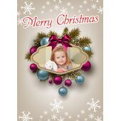 Personalised Christmas Card 021
