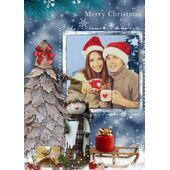 Personalised Christmas Card 050