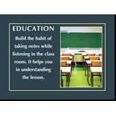 Motivational Print Education MP ED 2112