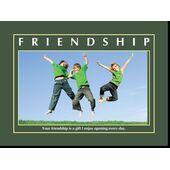 Motivational Print Friendship MP SH 8905