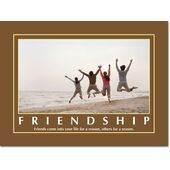 Motivational Print Friendship MP SH 8903