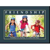 Motivational Print Friendship MP SH 8901