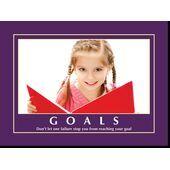 Motivational Print Goals MP GO 1106