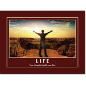 Motivational Print Life MP LI 0021