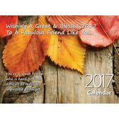 Friend - Personalised Sentimental Wall Calendar