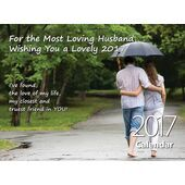 Husband - Personalised Sentimental Wall Calendar