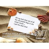 Son - Personalised Sentimental Wall Calendar
