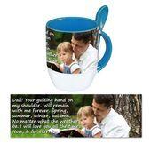 Personalised Pictorial Spoon Mug PP SM 1308