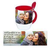 Personalised Pictorial Spoon Mug PP SM 1311